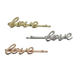 Bobby pin 3 silver 2 gold 1 copper