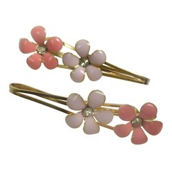 Bobby pin 2 flowers