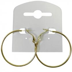 Oorbel creolen goud 40mm