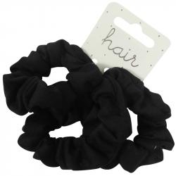Krinkel Jersey Set Zwart