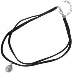 Collier 30cm Parel