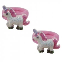 Mini ring glitter unicorn