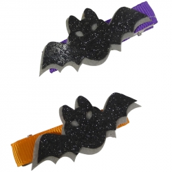 Duck clip 5.0cm Halloween bat