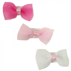 Velcro ribbon bow