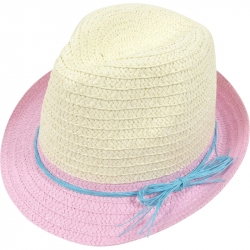 Children's hat rope belt 54cm light pink