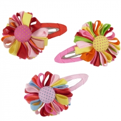 Sleepie 5.0cm ribbon flower