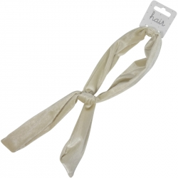 Hair Wire Fluweel Beige