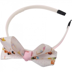 Aliceband 1.0cm bow ballet dancer