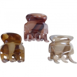 Claw clip 3.5cm marble facet