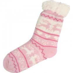 House Socks Nordic Pink