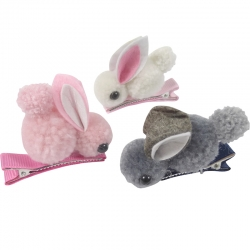 Duck clip 7.0cm teddy rabbit