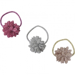 Mini Ring Glitter Flower