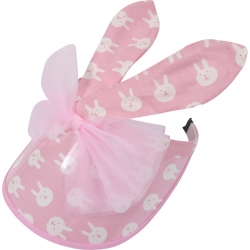 Suncap Children Bunny Ears Bow Pink