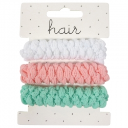 Elastic nylon braided pastel