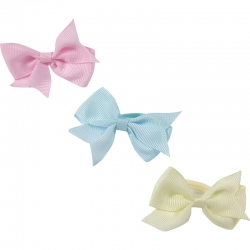 Mini Ring Bow Pastel
