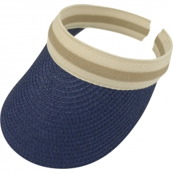 Suncap Aliceband Stripe Navy