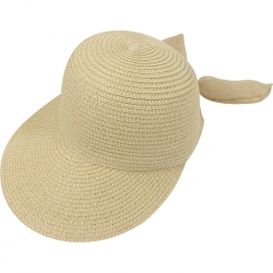 Suncap Straw Adjustable 54-58cm Beige
