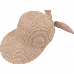 Suncap Straw Adjustable 54-58cm Light Pink