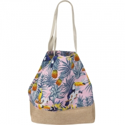 Beach Bagical Birds Pink