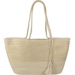 Beach Bagical Cord Striped Gold