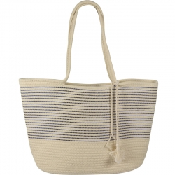 Beach Bagical Cord Striped Navy