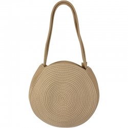 Beach Bag Cord Round Natural