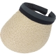 Suncap Grey/Black Aliceband Ivory