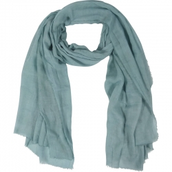 Scarf Plain 100% Viscose 90x180cm Sea Green