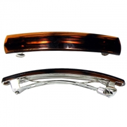 Automatic clip 10cm tortoise shell
