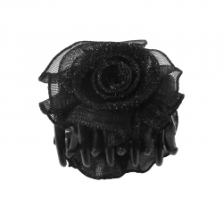 Claw clip 3.0cm Rose Black