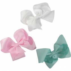 Duck clip bow pastel