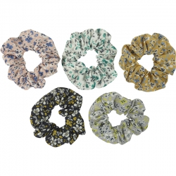 Scrunchie tube set floral