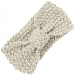 Headband Knitted Ivory