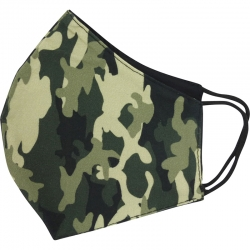 Mask Camouflage Green