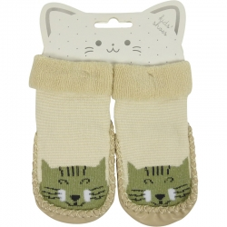 Baby Shoes Tiger Beige
