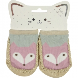 Baby Shoes Fox Pink