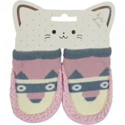 Baby Shoes Dog Pink